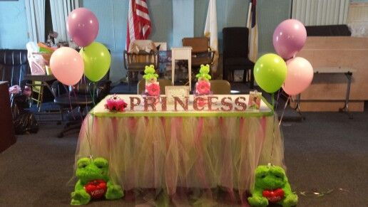 princess and the frog baby shower kvette creations pinterest