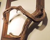 Rusty - Vintage Wood Frame with Grafted Manzanita Branch