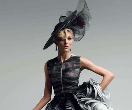 Anja Rubik for Vogue Japan May 2012 Edition is Classic and Lady Like #fashion trendhunter.com