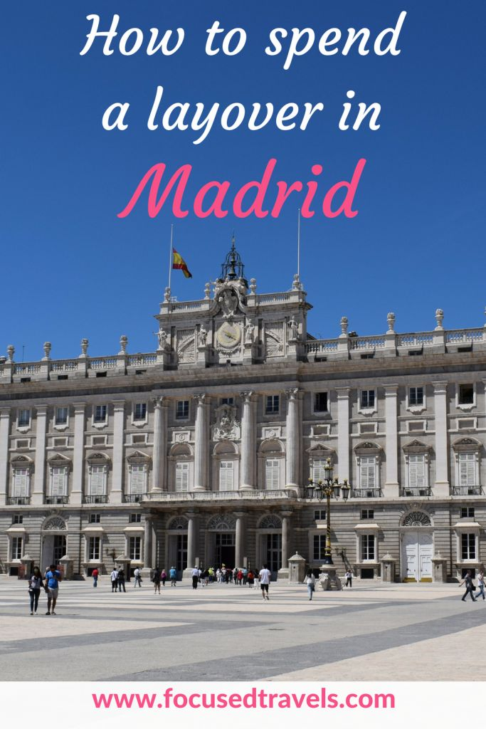 Layover in Madrid - what to do during a layover in Madrid. Here are our top suggestions for a layover in Madrid.