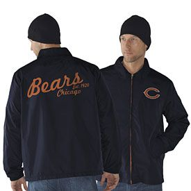 Get this Chicago Bears Head Coach Lightweight Jacket at ChicagoTeamStore.com