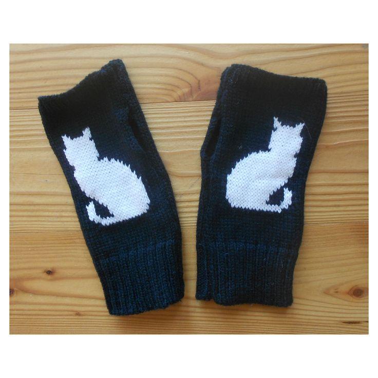 www.smagatto.it shop abbigliamento guanti-senza-dita-con-gatto