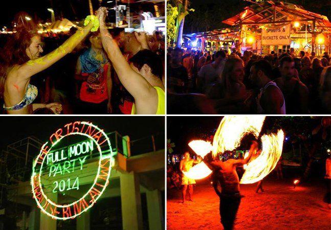 Nos 150 quilômetros quadrados da ilha de Koh Phangan, a quinta maior da Tailândia, cerca de 90% é floresta densa, enquanto que o restante é festa. É lá que mais de 10 mil mochileiros se reúnem todos os meses para participar da fantástica Full Moon Party, ou Festa da Lua Cheia. A festa teve seu início nos anos 80, quando um grupo de turistas elegeu a vista da Lua cheia de lá como a mais bonita do mundo. Centenas de viajantes começaram, então, a se reunir na praia de Haad Rin para celebrar a…