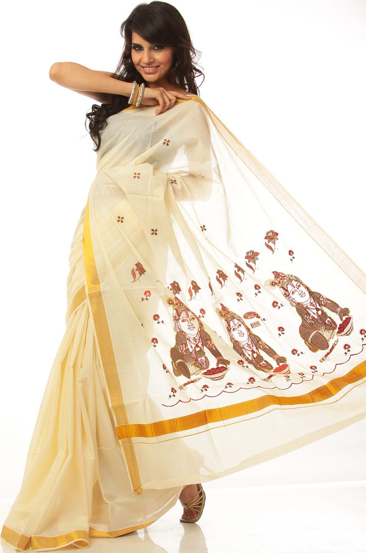 30 best images about kerala sarees on pinterest