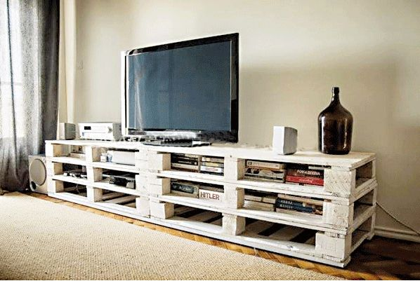 mobili tv con i pallet - Cerca con Google Handmade - Home & Kitchen - Furniture - handmade furniture - http://amzn.to/2ksLfE7