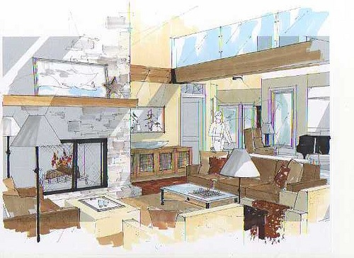 Eaglerock Sketches, Michelle Morelan Design