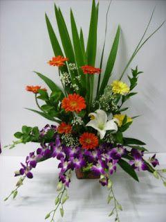 Toko Bunga Bandung | Toko Florist di Bandung - Rangkaian Bunga Ucapan Selamat dan Sukses: Bunga Rangkaian Buka Puasa Untuk Meja Prasmanan