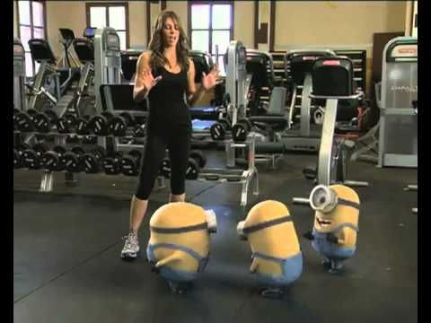▶ Minions-Biggest-Loser-Full-length - YouTube - this is sooooooo funny especially because I love Jillian Michaels AND the minions!!! SO FUNNY!!!