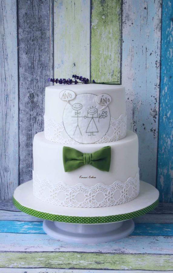 Wedding cake by Kmeci Cakes
