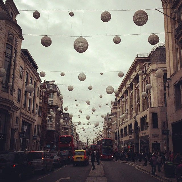 Oxford Street, London. Not the best place to shop, but possible the most popular.