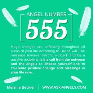Angel Number 555