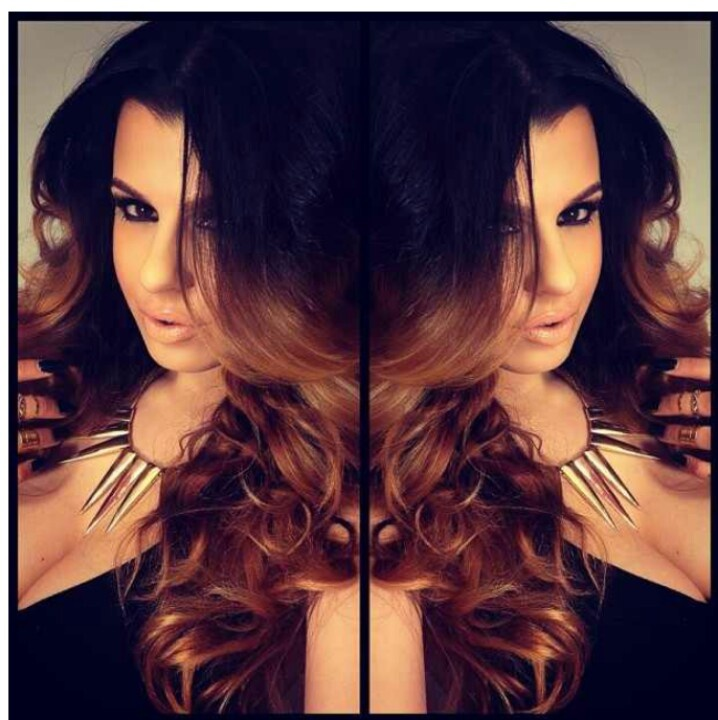 black/light brown ombre hmmm... | Hair pornnn | Pinterest ...