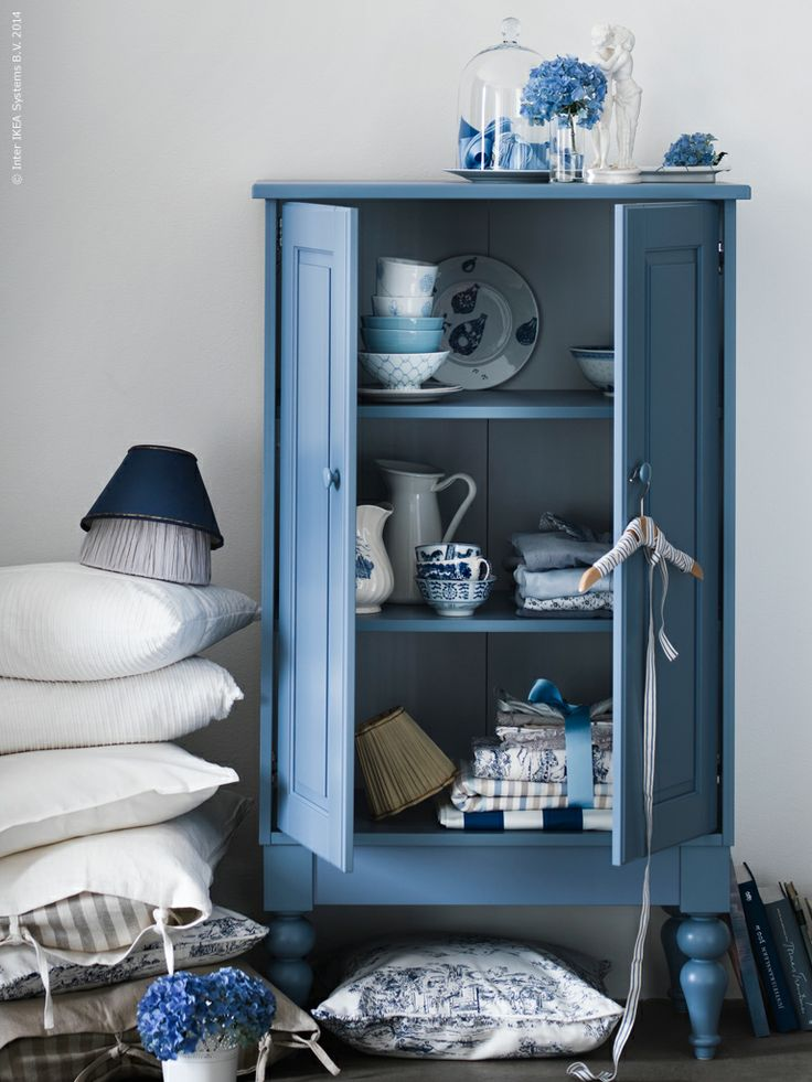 Ikea Isala cabinet but all I care about is the style and the gorgeous color.