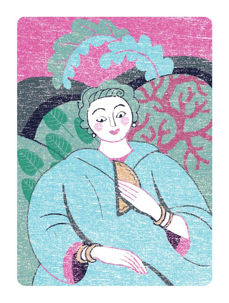 May small illustration