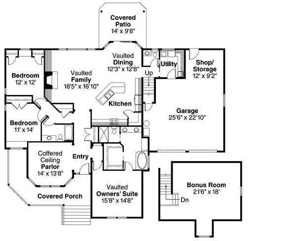 Cumberland 30 606   3 Bedroom Floor Plan From Associated Designs