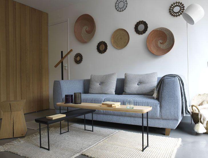 Природные материалы в интерьере квартиры в Париже | PUFIK. Beautiful Interiors. Online Magazine