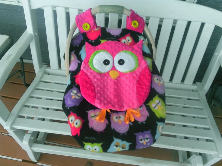 Owl Car Seat And Stroller Covers Velcromag