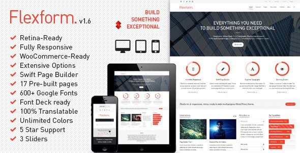 Flexform - Retina Responsive Multi-Purpose Theme #wordpress #ecommerce