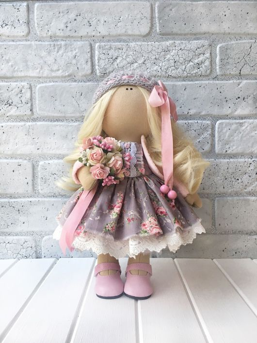 Коллекционные куклы ручной работы. Ярмарка Мастеров - ручная работа. Купить Кукла текстильная ручной работы Jennifer.. Handmade.