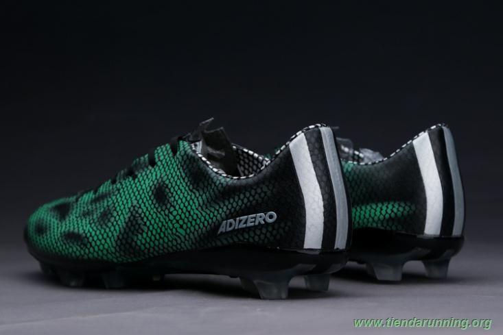 Negro Verde FG ADIDAS ADIZERO F50 comprar zapatillas baratas