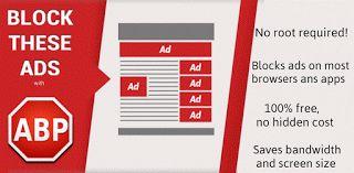 Adblock Plus v1.3.0.368  Domingo 6 de Diciembre 2015.Por: Yomar Gonzalez | AndroidfastApk  Adblock Plus v1.3.0.368 Requisitos: 2.1  Descripción: Bloquea toda la publicidad en línea cuando se navega y al utilizar sus aplicaciones favoritas como Angry Birds. Es 100% gratis y hace que su dispositivo Android mucho más agradable.Adblock Plus bloques: los anuncios para móviles video publicidad banners notificaciones push publicidad pantalla publicidad HTML5 y mucho más. TENGA EN CUENTA: Adblock…