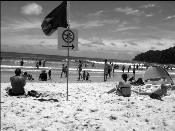 Noosa Beach. N.S.W. 2009. Photography by Xristo.C.Russell