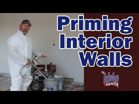 14 Best Images About House Painting Tutorials On Pinterest: priming walls before painting