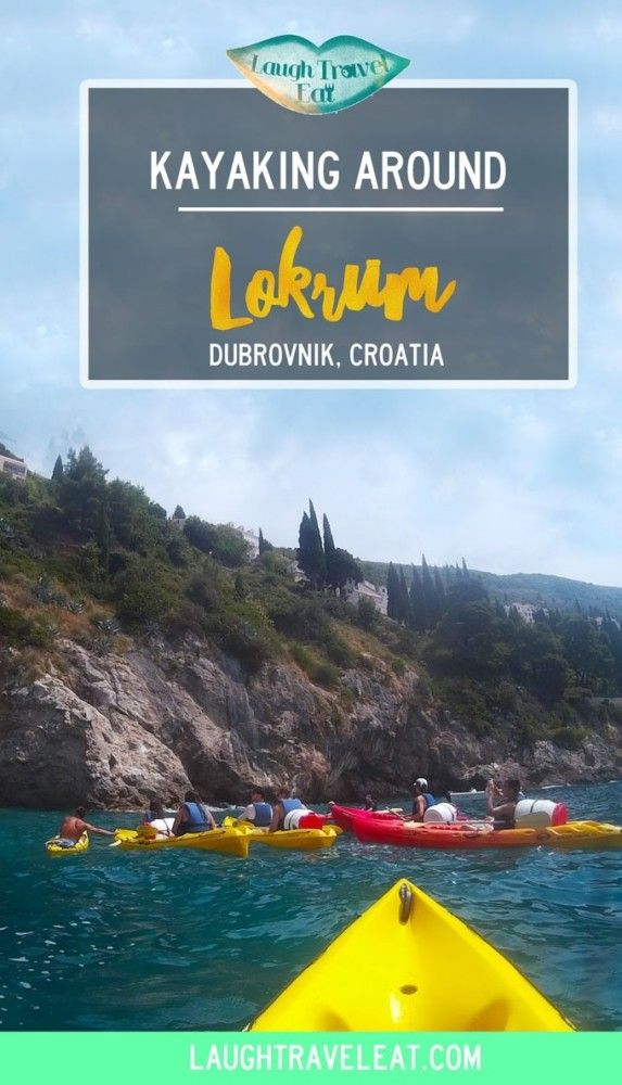 Dubrovnik faces many islands and Lokrum is the nearest one. Kayaking around it and back offers a great view as well as a way to get active