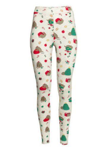 Los mejores leggings navideños para las posadas.