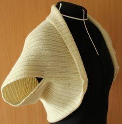 Bolero, villa, joustinneule, tilauksesta, neuleita, neuloa, wool, rib, customized, knitwear, knit, knitting