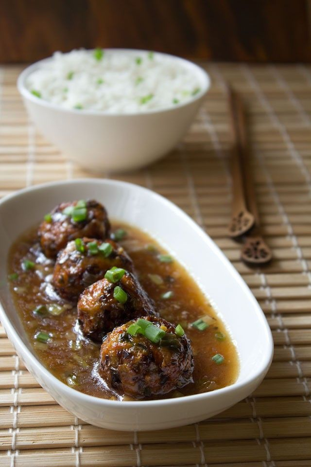 veg manchurian recipe with step by step photos - vegetable manchurianis an popular indo chinese recipe.    the indo chinese recipes like this veg manchurian always call for grated or minced veggies. so you can chop the
