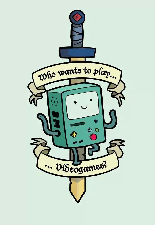 BMO rules I also think this would be a good tattoo                                                                                                                                                     More