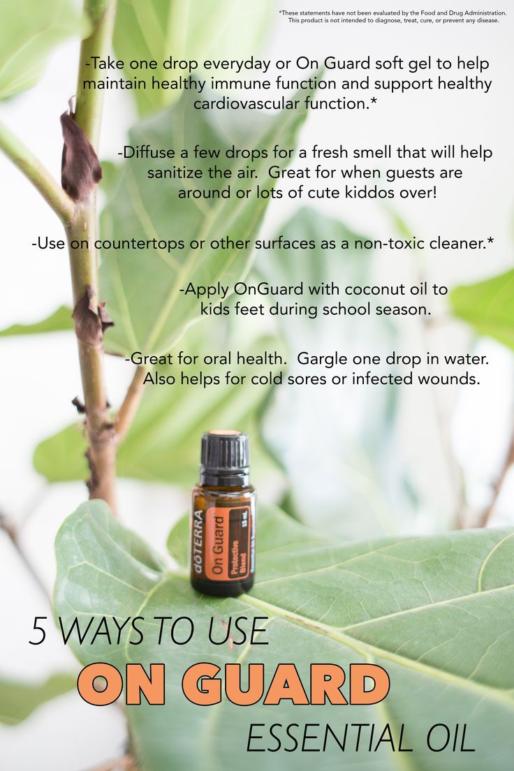 5 Ways to Use On Guard Essential Oil in your Everyday Life