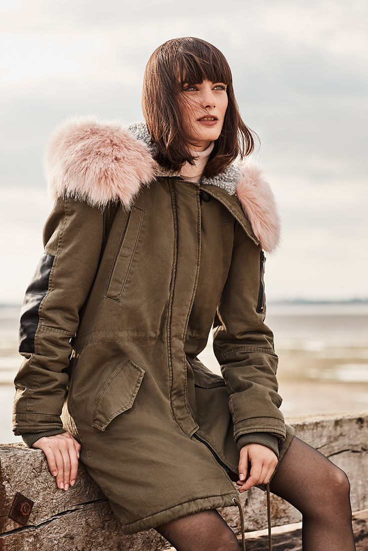 Classic parka is a can't-resist coat.