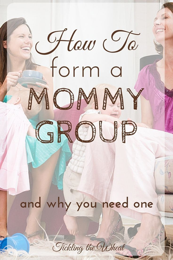 One of the most unexpected things about being a mommy is how lonely you'll feel. Every new mother needs a mommy group. Here's how to form a parenting group.