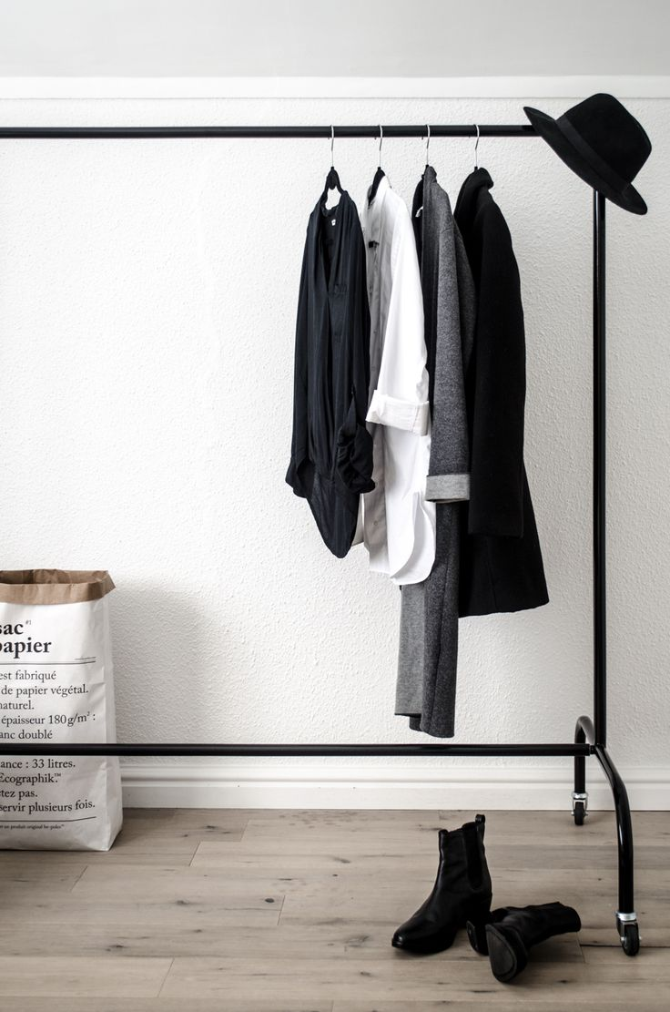 Contemporary Clothing Rail