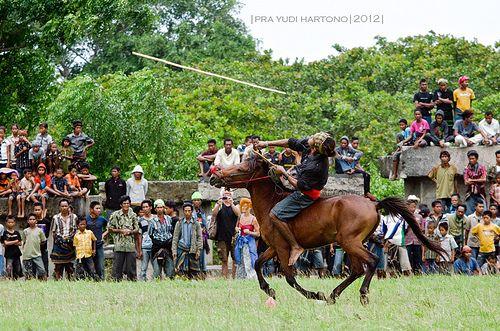 Pasola Warrior.Wainyapu, Kodi, Sumba, NTT, Indonesia