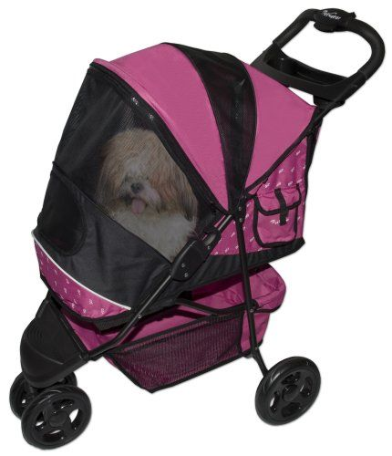 Amazon.com: Pet Gear Special Edition Pet Stroller for cats and dogs up to 45-pounds, Sage: Pet Supplies