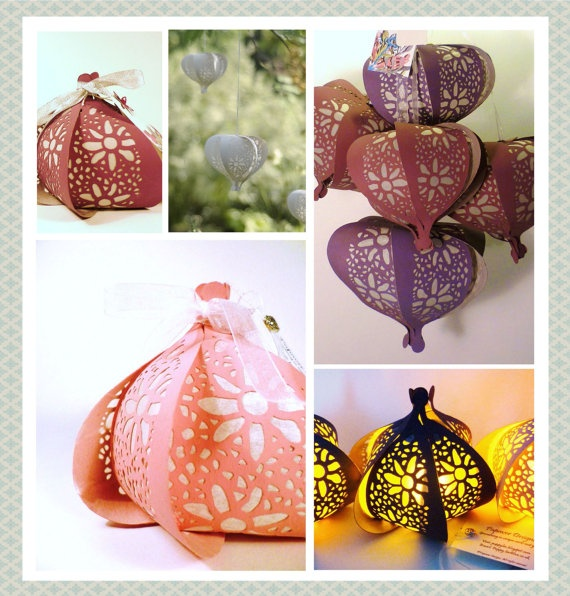 Floral Paper Lantern Table Decorations Wedding By Papaverdesigns