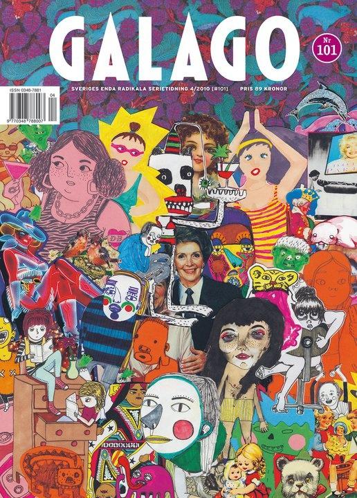 Galago | Swedish comic magazine