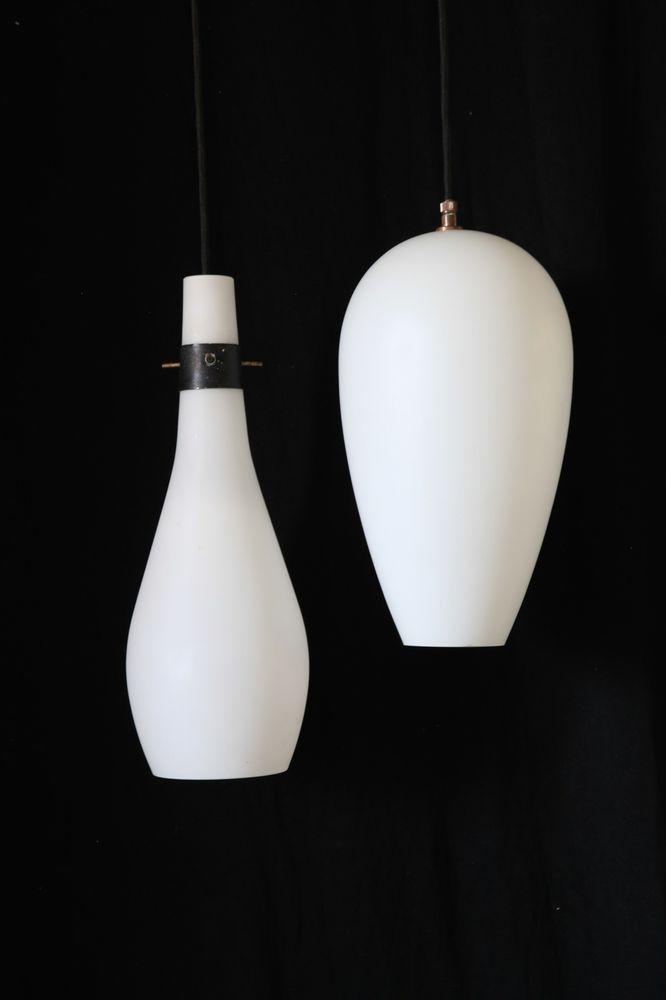 Awesome Vistosi Paar Deckenlampen Italien um Tropfen