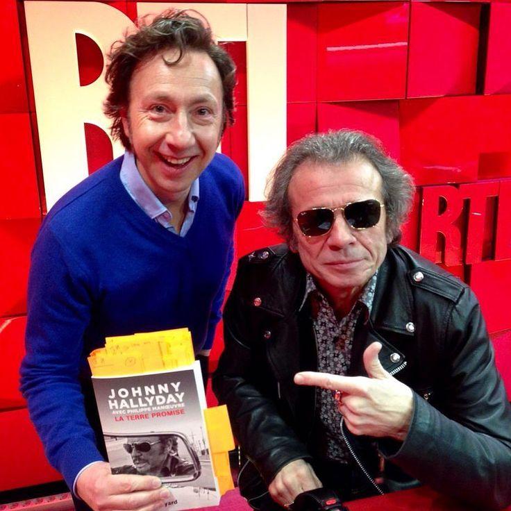 "Philippe Manoeuvre invité de Stéphane Bern dans ""A la bonne heure"" #rtl #RueBayard #StephaneBern #PhilipeManoeuvre #JohnnyHallyday #Johnny by rtl_france"