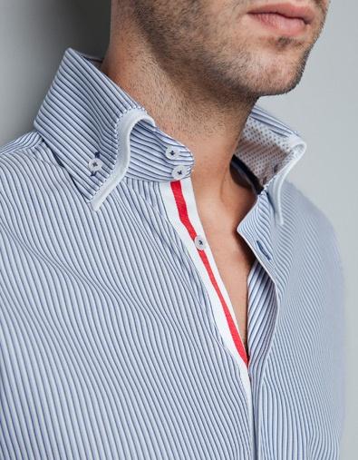 STRIPED SHIRT - Shirts - Man - ZARA United States