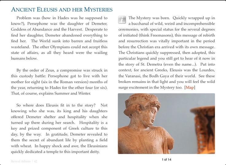 Reveal Athens - Ancient Eleusis