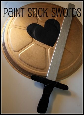 So many Bible lessons need swords and shields!!!  This is great!!!