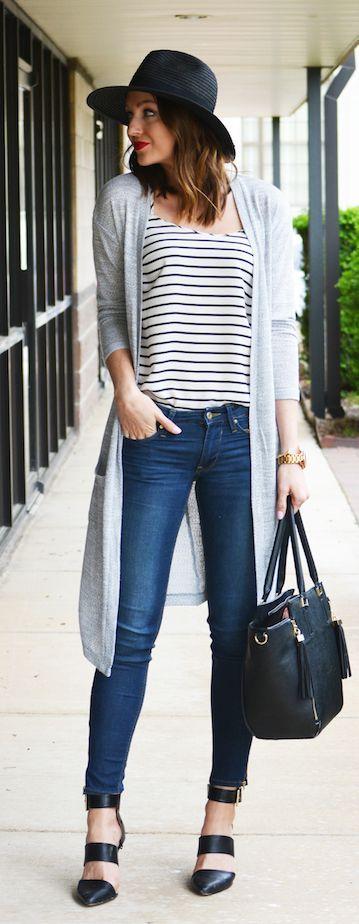 Simple Stripes Outfit Idea