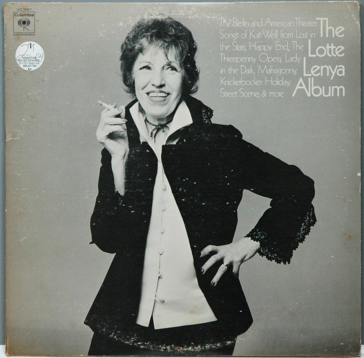 Lotte Lenya - this and the re-issue is a perfect album :)