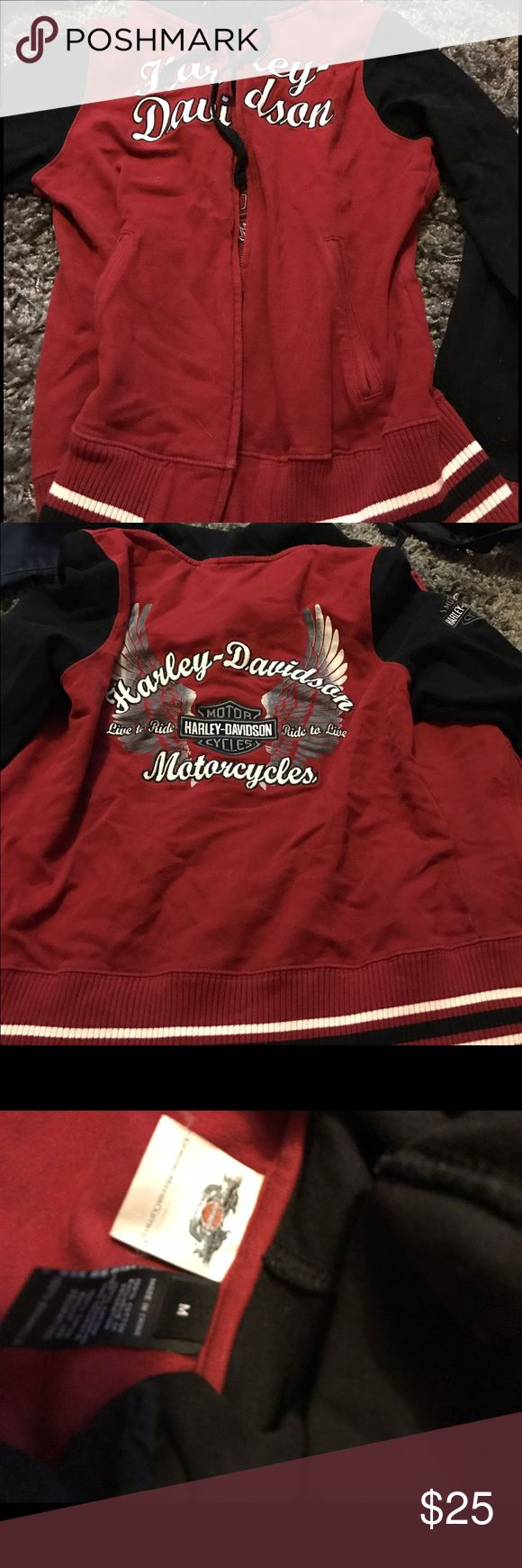 Women's Harley Davidson Sweatshirt Great condition Harley-Davidson Tops Sweatshirts & Hoodies