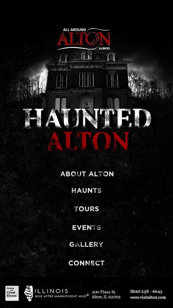 Alton, Grafton, Godfrey, Jersey & Calhoun County, IL | Feature Stories - Why Alton is America's Most Haunted Small Town