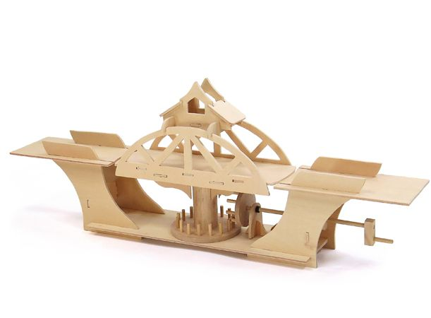 25 best timber kits images on pinterest automata wood for Wooden swing set with bridge